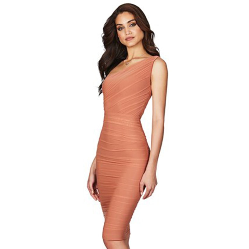ONE STRAP DRESS - Revossa