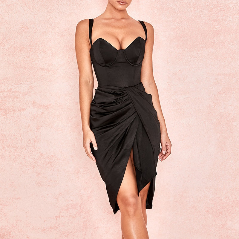 RUSSO BODYCON DRESS - Revossa