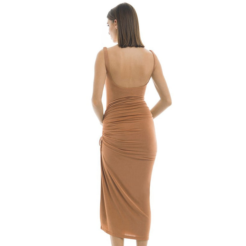 SLINKY MIDI DRESS - Revossa