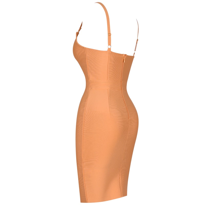 STRAPPY MINI DRESS - Revossa