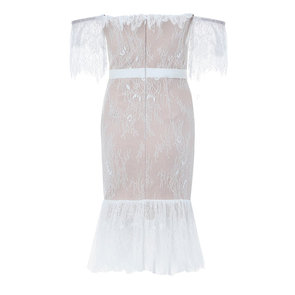 ETHREAL LACE DRESS - Revossa