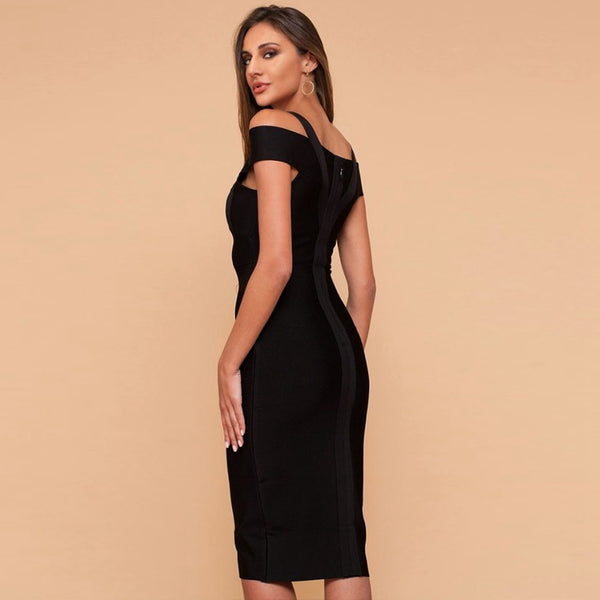 TIME TO GET AWAY MIDI DRESS - Revossa