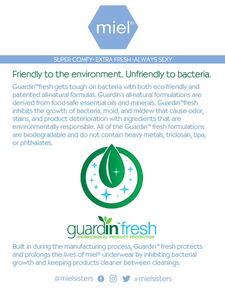 Guard in plant based antimicrobial protection