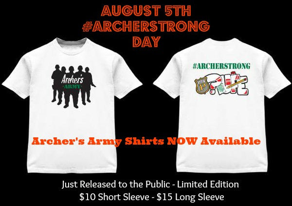 Archer's Army Shirts On Sale