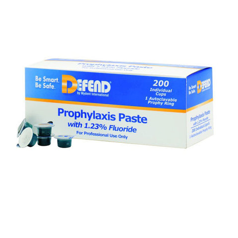 Defend Prophy Paste with Flouride 200 Unit Dose
