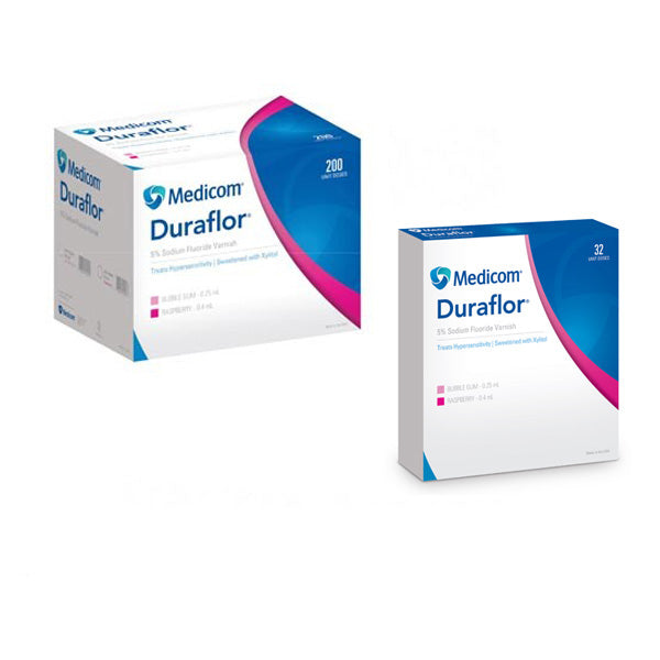 Medicom Duraflor 5% Sodium Fluoride Varnish in Unit Dose
