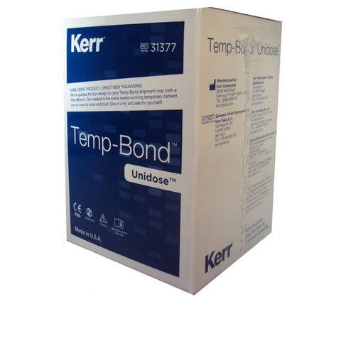 Kerr TempBond Regular Unidose Packets Zinc Oxide Eugenol Temporary Cement