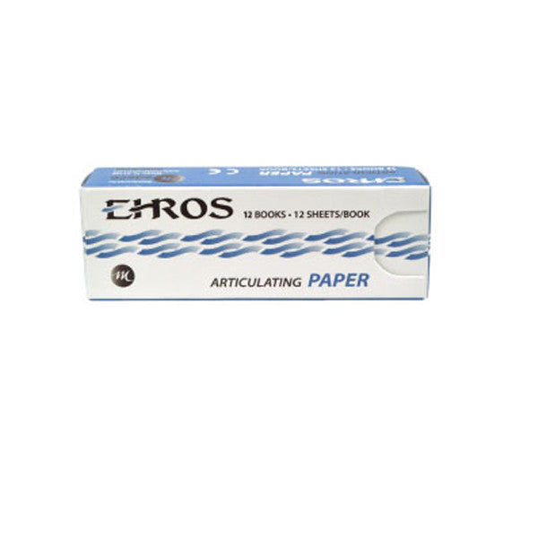 EHROS (Medeco) Articulating Paper 144/box Made in USA