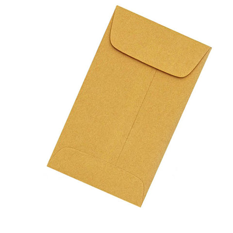 "Dental X-Ray Coin Envelopes Yellow 2-1/4"" x 3-1/2"" 500/pk"