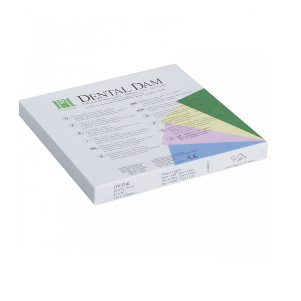 Hygenic Non-Latex Medium Green Dental Dam