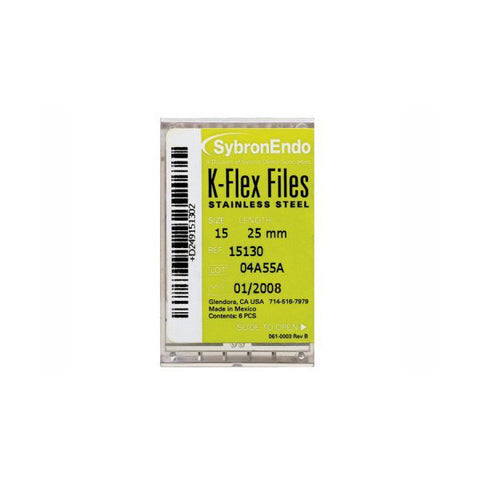 Kerr Sybron K-Flex Files 25MM
