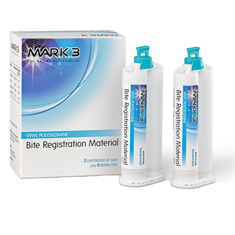 Mark3 Bite Registration Impression Material 2 Cartridges
