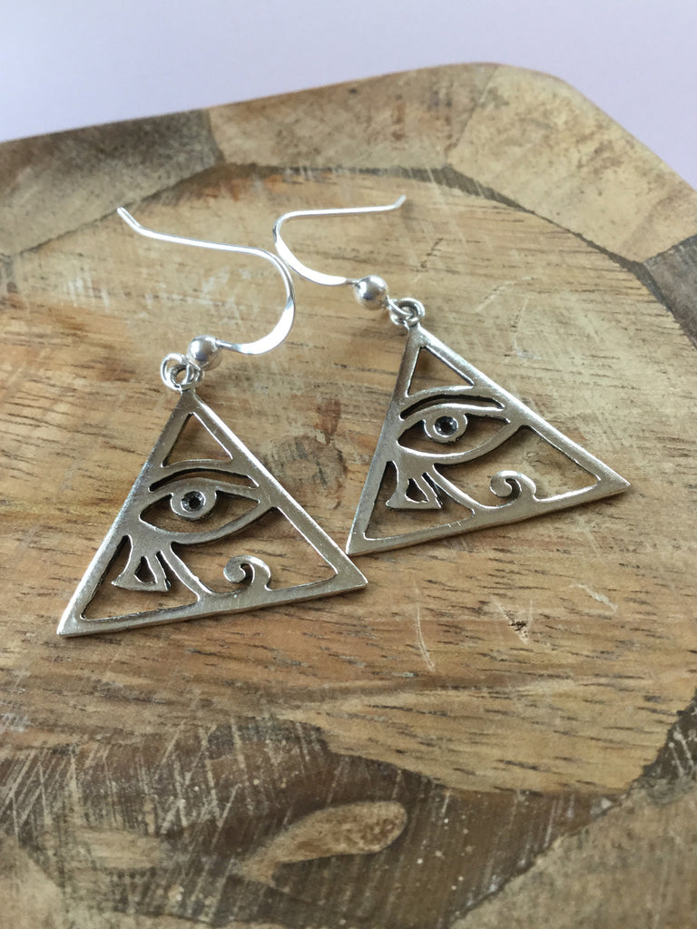 "925 STERLING SILVER ""THE EYE OF RA"""