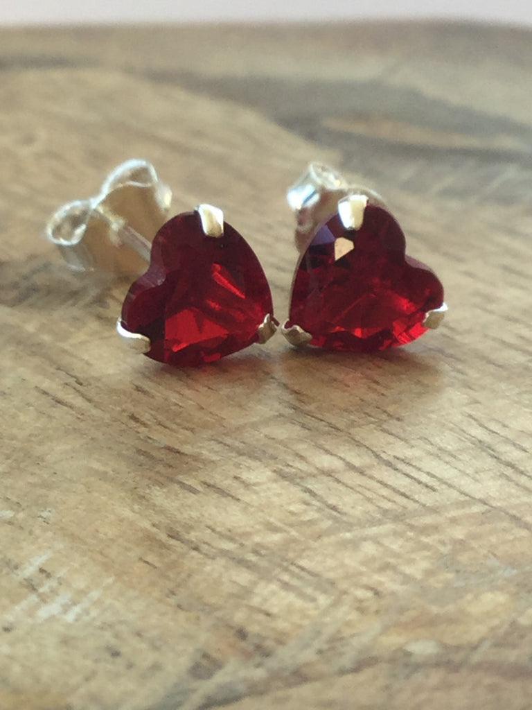 drops emily red kidson earring stud drop and teardrop circle
