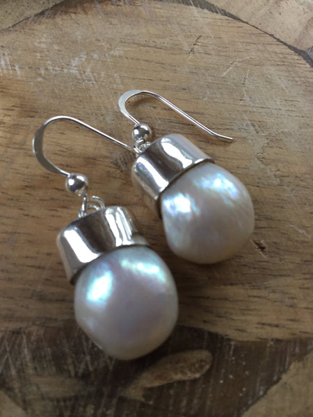 ARTISAN 925 STERLING SILVER FRESHWATER PEARL