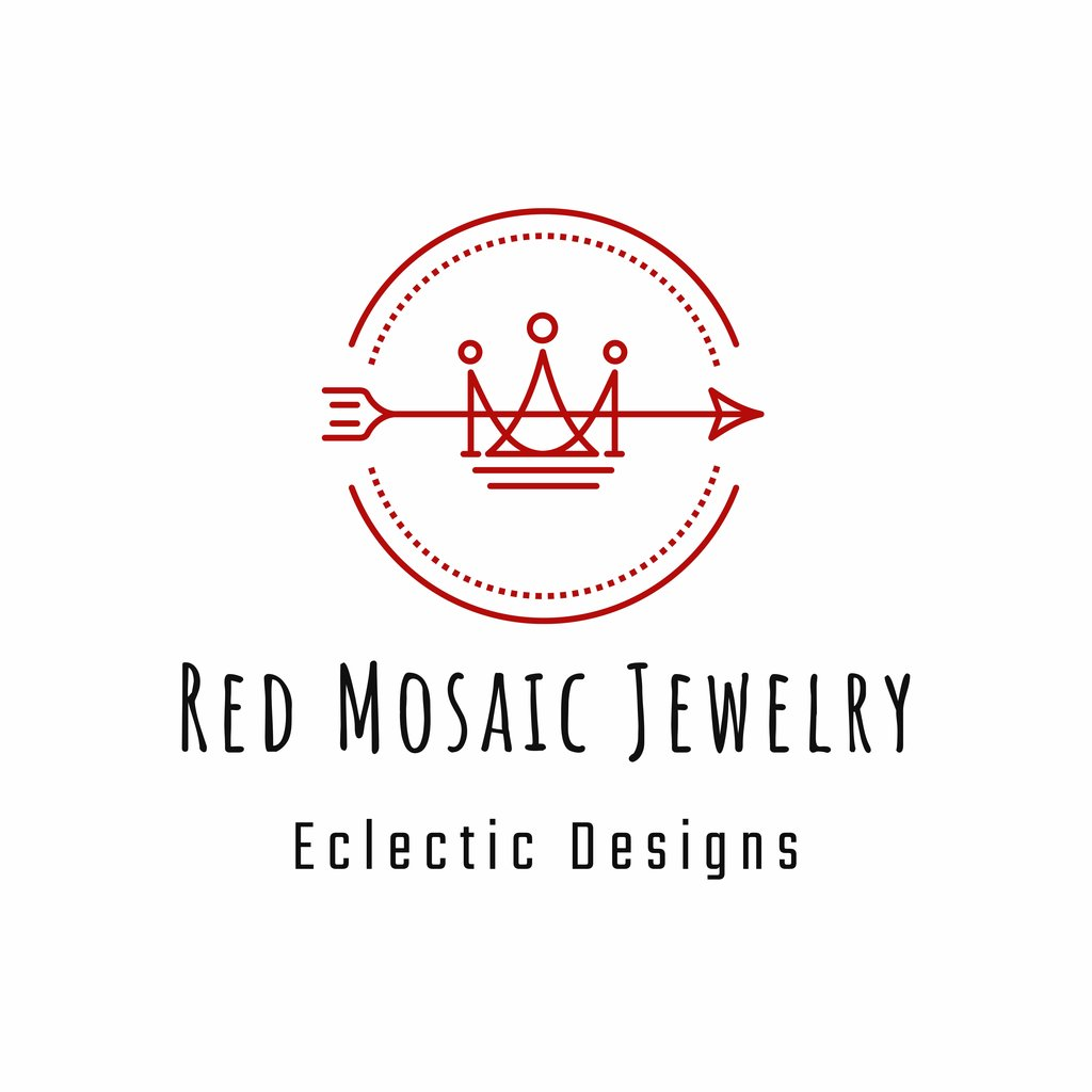 RED MOSAIC JEWELRY