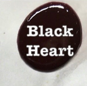BLACK HEART (Dark Plum/Almost Black)