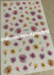 Flower F021 Sticker