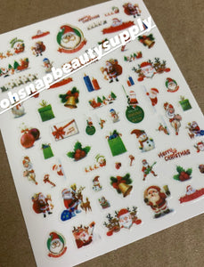 Merry Christmas 906 Sticker
