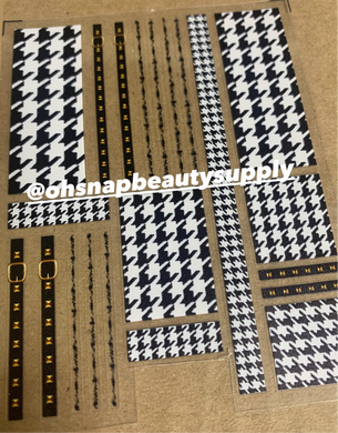 HOUNDSTOOTH 160 Sticker
