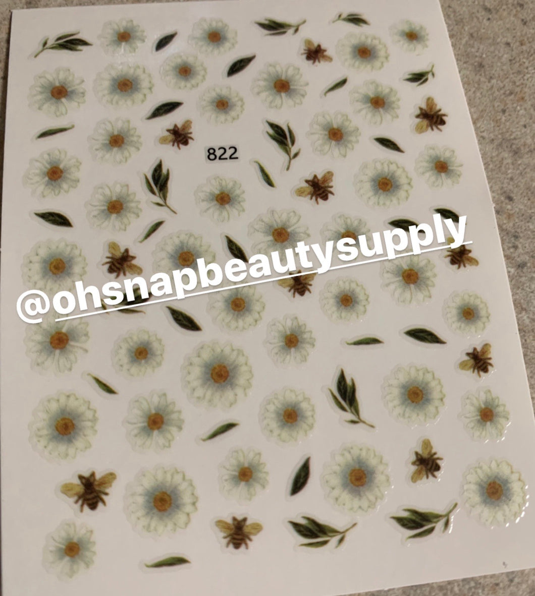 Daisy 822 Sticker
