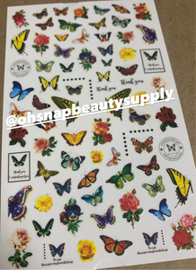 Butterfly 680 Sticker