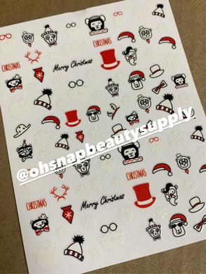 Merry Christmas 149 Sticker