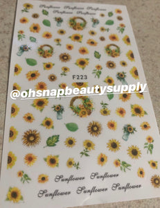 Sunflower F223 Sticker