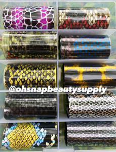 Reptile Skin (Y) MIX Transfer Foils