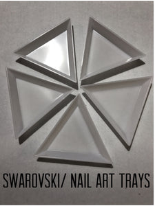 Swarovski/ Nail Art Trays 5pcs