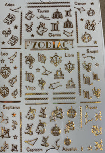 Copper ZODIAC R087 Sticker