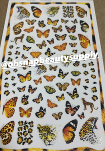 Butterfly 681 Sticker