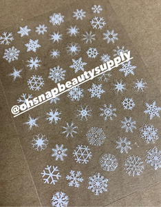 Snowflakes 034 Sticker