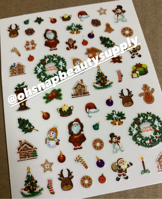Merry Christmas 904 Sticker
