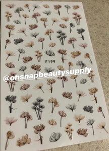 Flower F199 Sticker