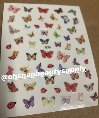 Butterfly 806 Sticker