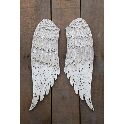 White Wings Wall Plaque