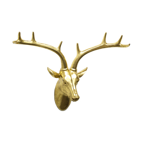 Golden Deer Bust