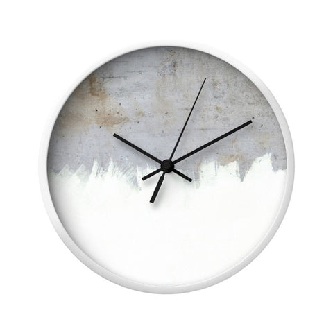 Semi-Concrete Wall Clock