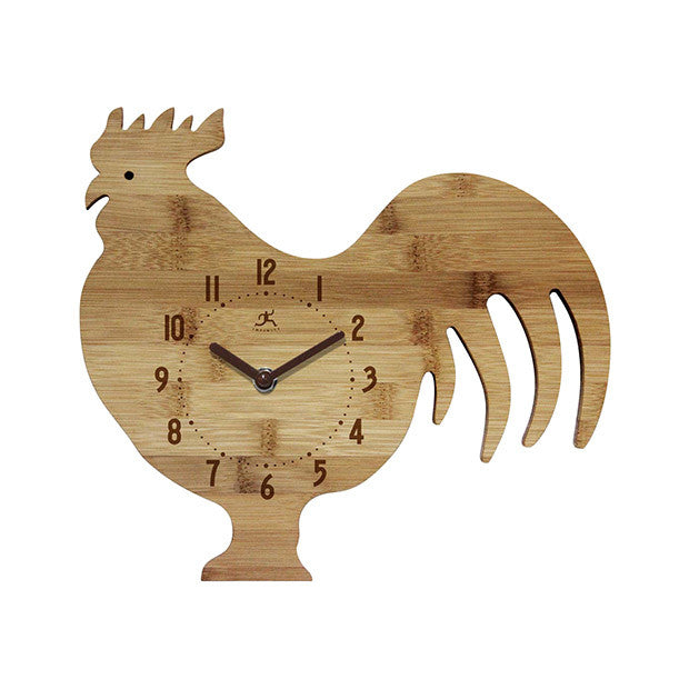 Farm Fowl Wall Clock