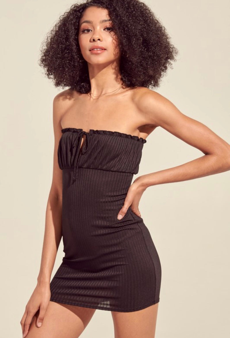 Selene Ribbed Dress