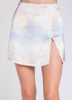 Cotton Candy Tie Dye Skirt