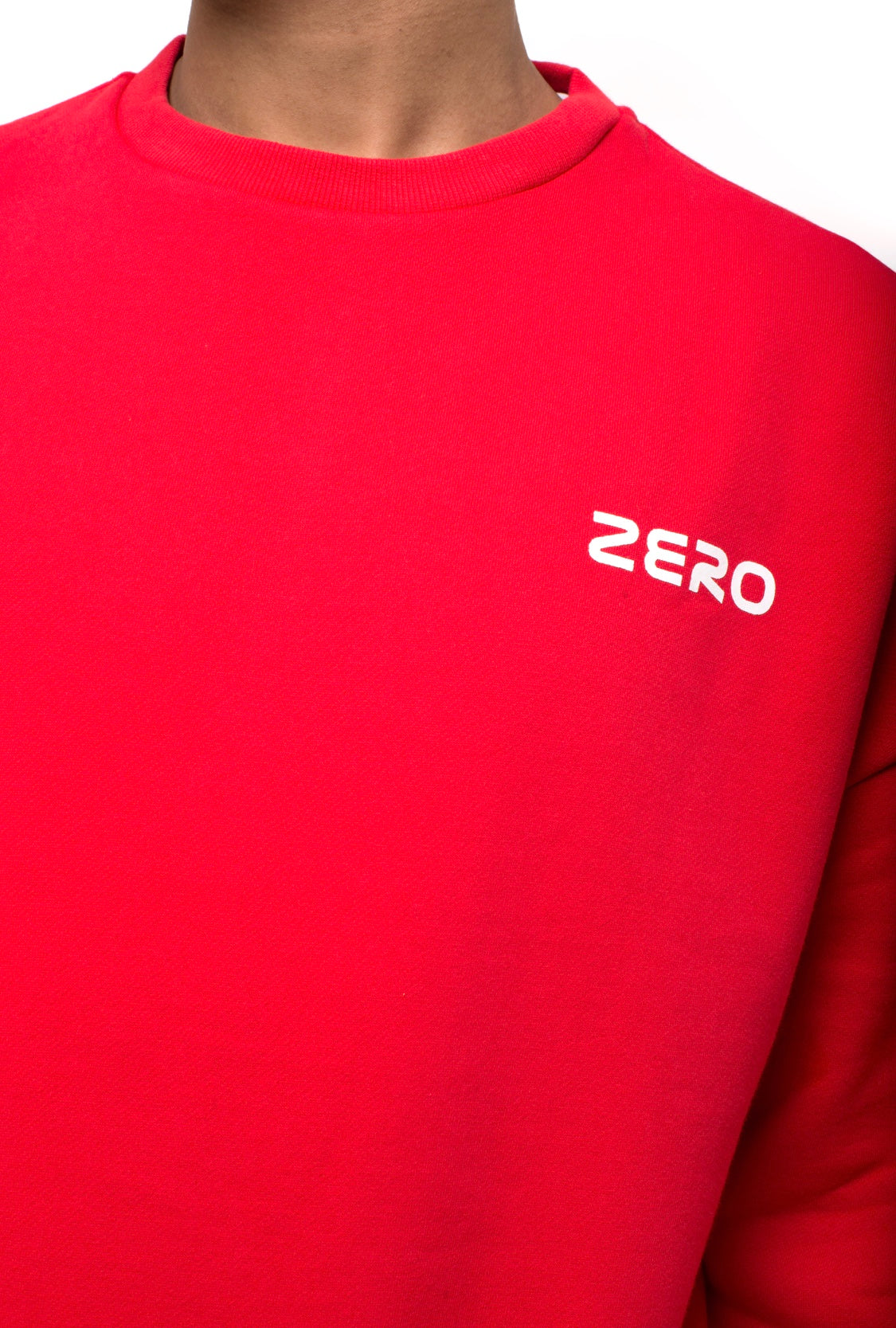 ZERO CAMPAIGN SWEATSHIRT - RED