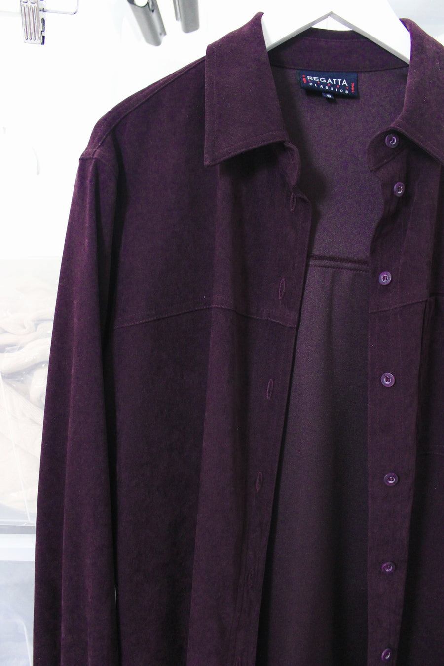 purple vintage jacket