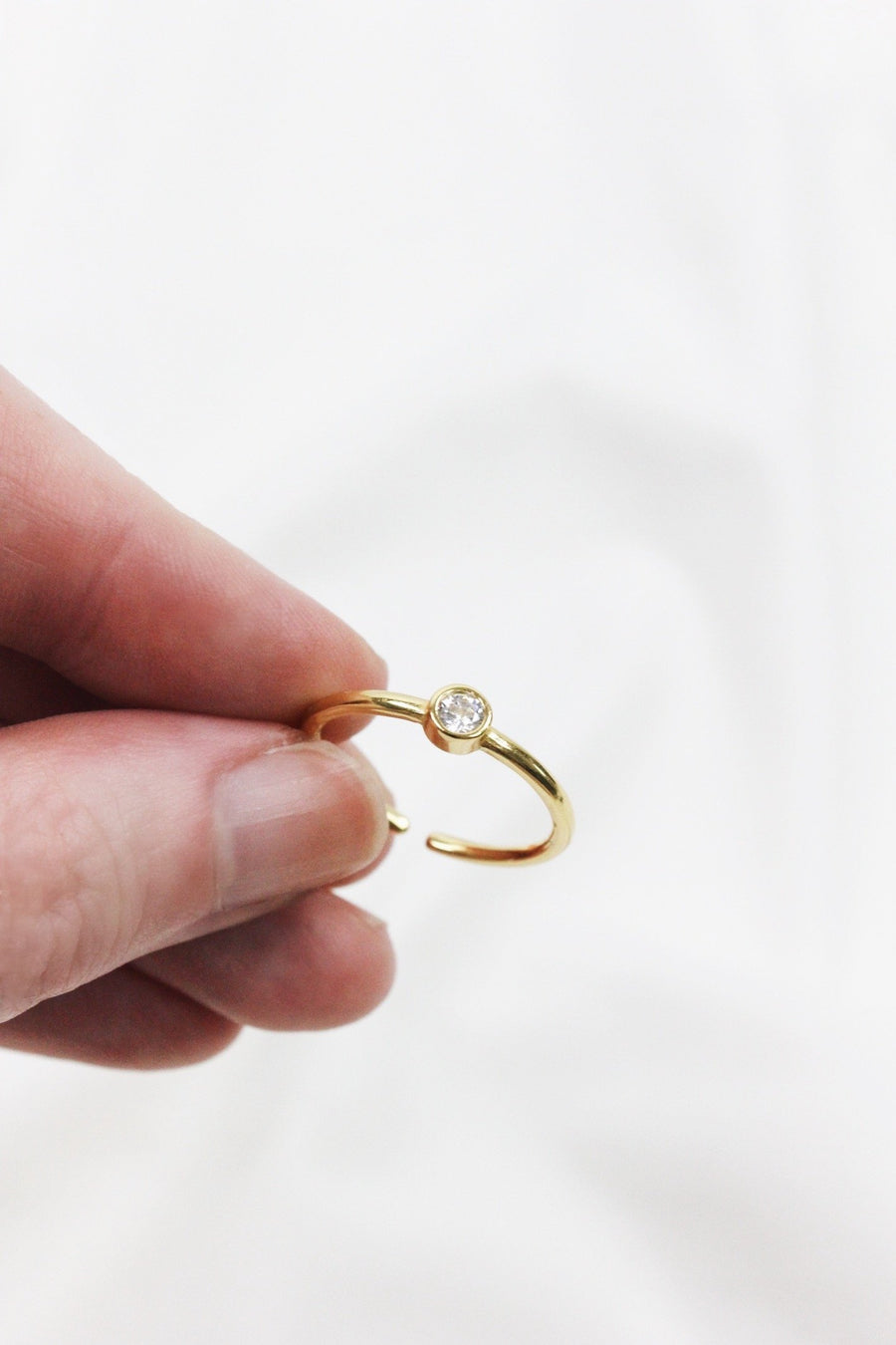 CRYSTAL DREAM GOLD RING - Halite Clothing