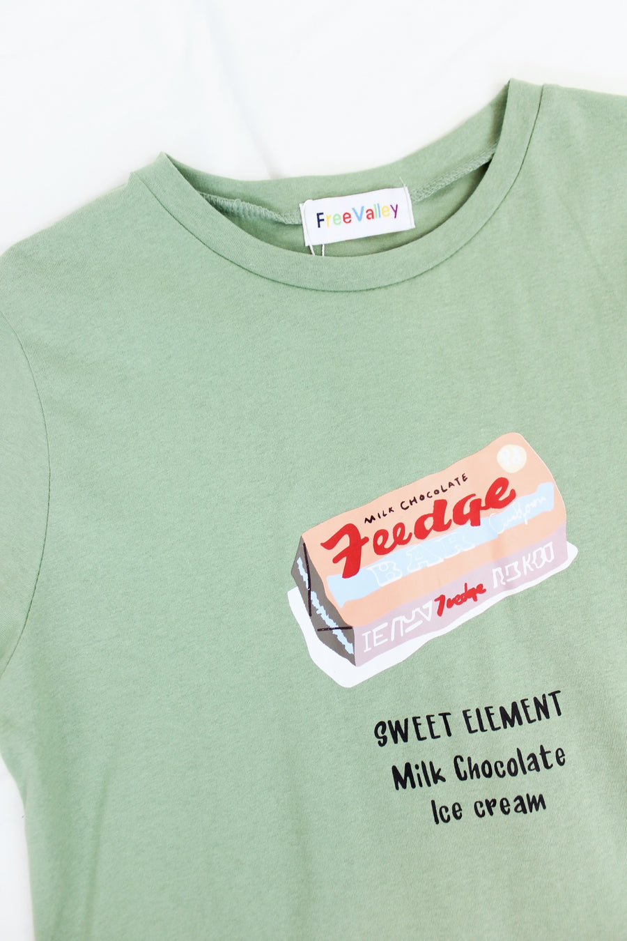SWEET TOOTH GREEN TEE - Halite Clothing