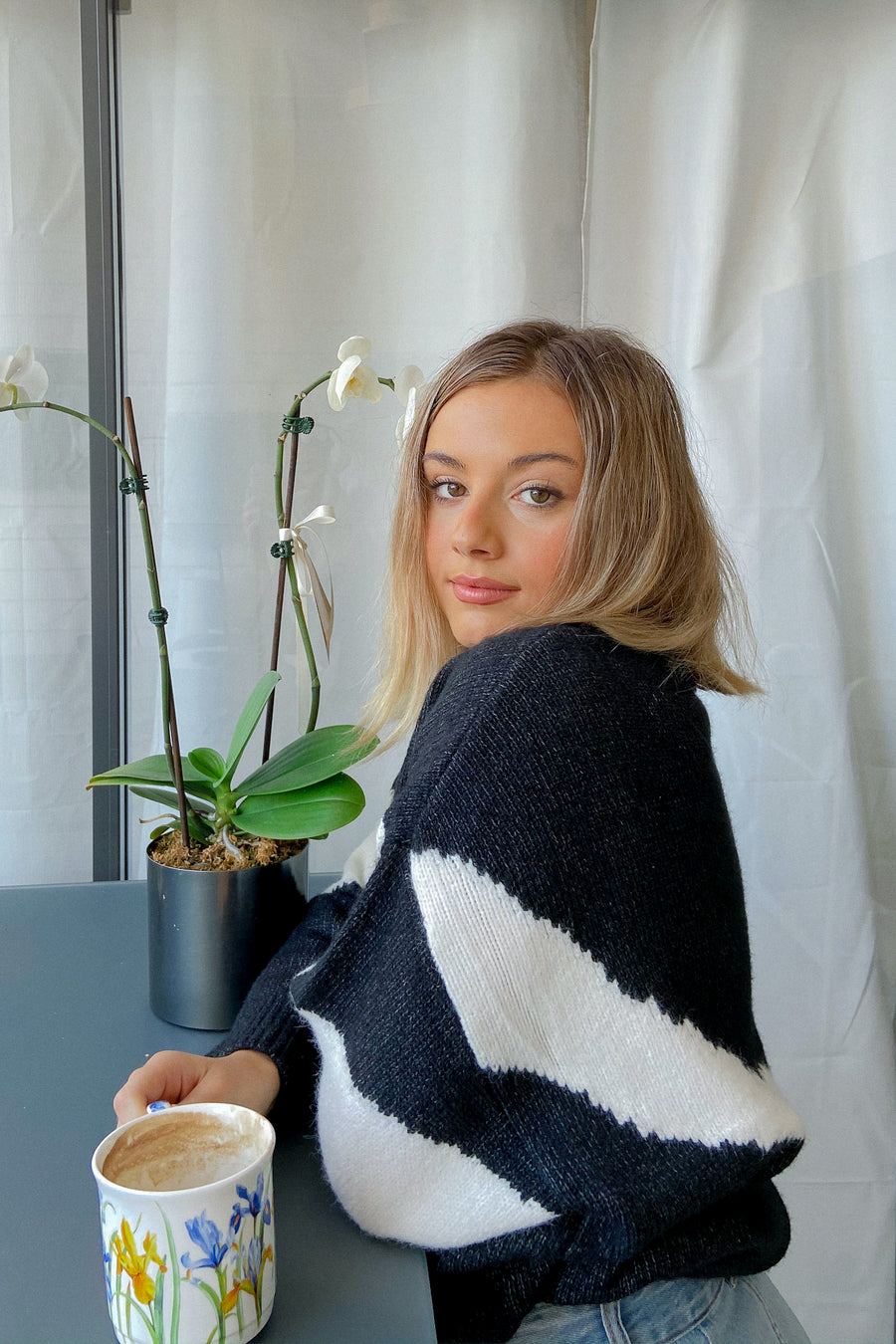ALL THE THINGS KNIT JUMPER - Halite Clothing