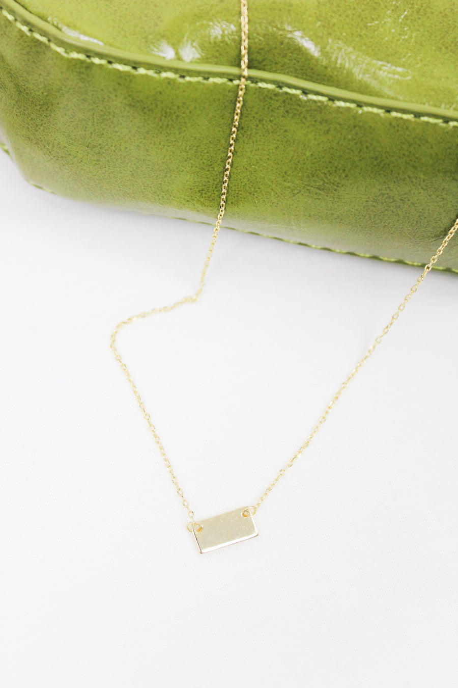 FREE BIRD GOLD PLATE NECKLACE