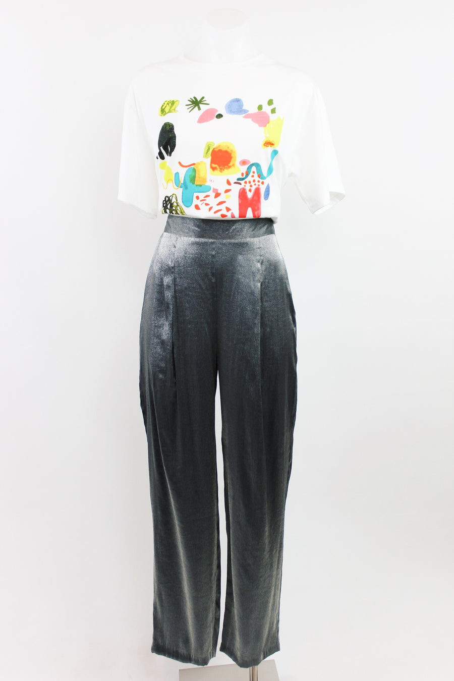 BE AROUND VINTAGE PANTS / METALLIC