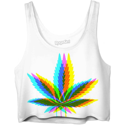 Rainbow Weed Leaf - SEND IT and Do It for State!